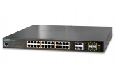 Planet GS-4210-24P4C - Switch 24x10/100/1000T PoE+ 4xTP/SFP